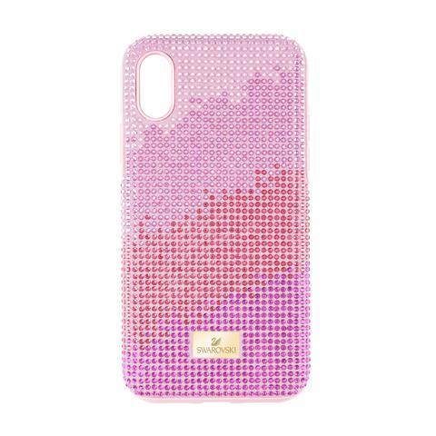 Custodia Per Smartphone Con Bordi Protettivi High Love, Iphone® Xr, Rosa from SWAROVSKI on 21 Buttons