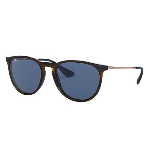 Erika Color Mix Unisex Sunglasses Lentes: Azul, Montura: Bronce de Ray-Ban en 21 Buttons