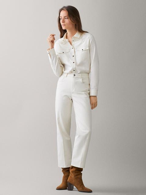 estilo único mayor selección de nueva Pantalon À Pinces En Cupro Bleu Marine Large Limited Edition ...