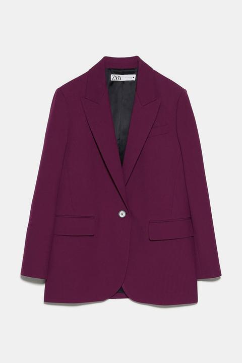 Blazer Oversize de Zara en 21 Buttons