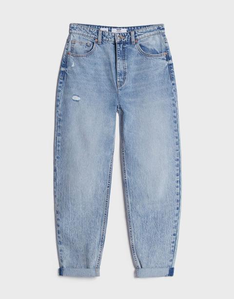 Jeans Mom Vuelta