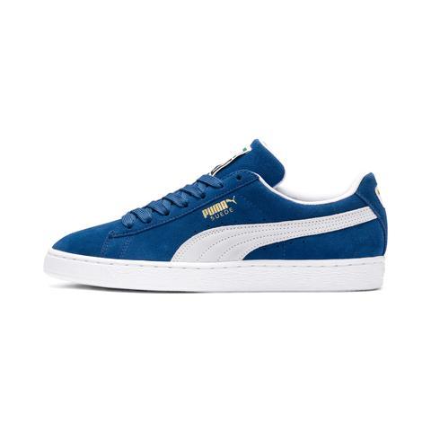 Zapatillas De Hombre Suede Classic, Blanco/azul, Talla 36 | Puma Hombres de Puma en 21 Buttons