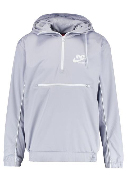 Nike Sportswear Archive Cortaviento Wolf Grey/pure Platinum/summit White de Zalando en 21 Buttons