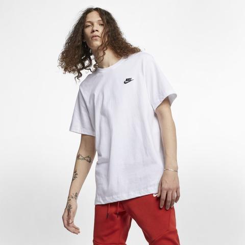 Nike Sportswear Club Camiseta - Hombre - Blanco