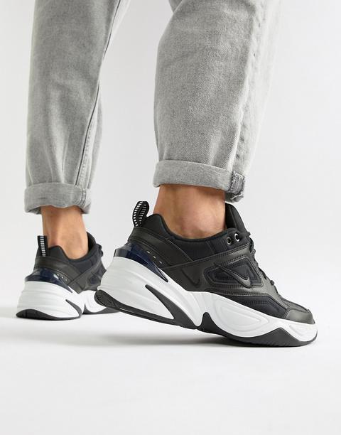 Nike - M2k Tekno + Sneakers Nere Av4789-002 - Nero de ASOS en 21 Buttons