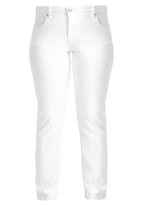 Zizzi Emily Vaqueros Slim Fit Bright White