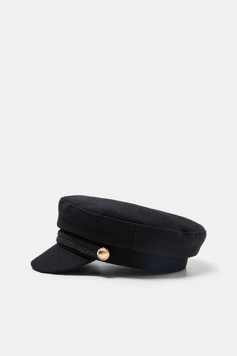in vendita cerca l'autorizzazione servizio duraturo Cappello Da Marinaio Con Bottoni from Zara on 21 Buttons