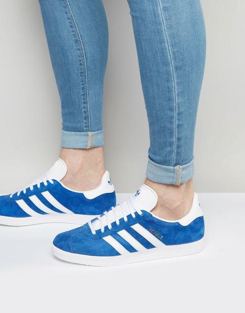 Adidas Originals - Gazelle - Sneakers Blu S76227 - Blu de ASOS en 21 Buttons