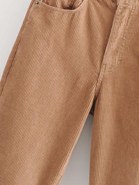 Pantalones De Pana Con Diseno De Bolsillo From Shein On 21 Buttons