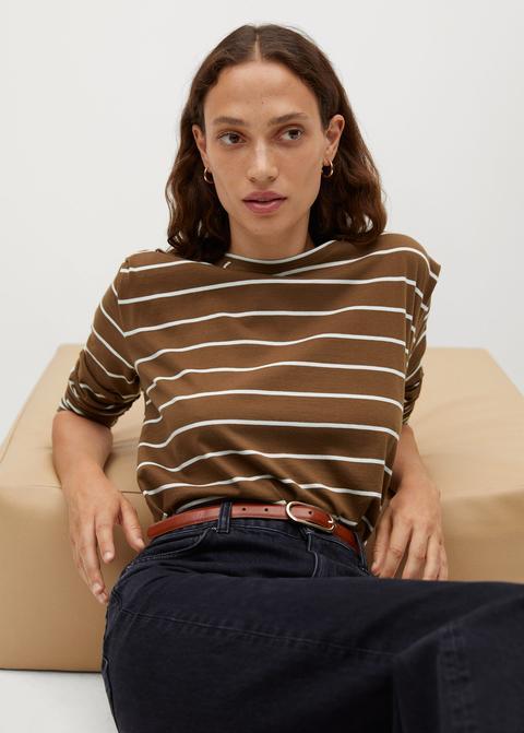 Camiseta Algodón Manga Larga