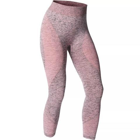 Mallas Piratas Leggings Deportivos Yoga Domyos 500 Slim Mujer Rosa Sin Costuras From Decathlon On 21 Buttons