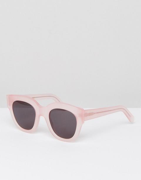 Monokel Eyewear Cleo Cat Eye Sunglasses In Pink