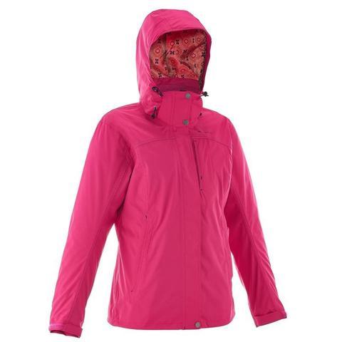 estilo clásico de 2019 venta más barata mejor baratas Chaqueta Travesía Mujer Rainwarm 300 3en1 Rosa Quechua from Decathlon on 21  Buttons