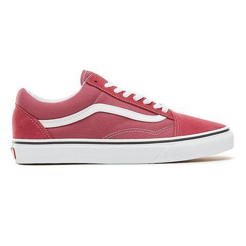 Vans Zapatillas Color Theory Old Skool (unisex) (dry Rose/true White) Hombre Rojo de Vans en 21 Buttons