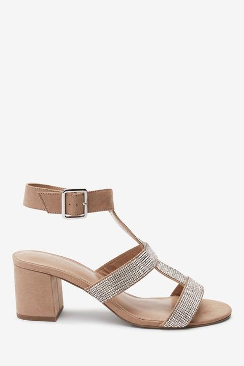 Womens Next Silver Gladiator Sandals