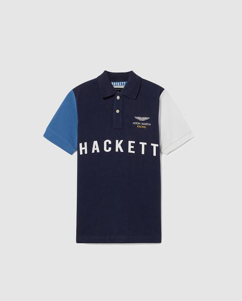 1c890499af Hackett - Polo De Niño En Azul Con Print de El Corte Ingles en 21 ...
