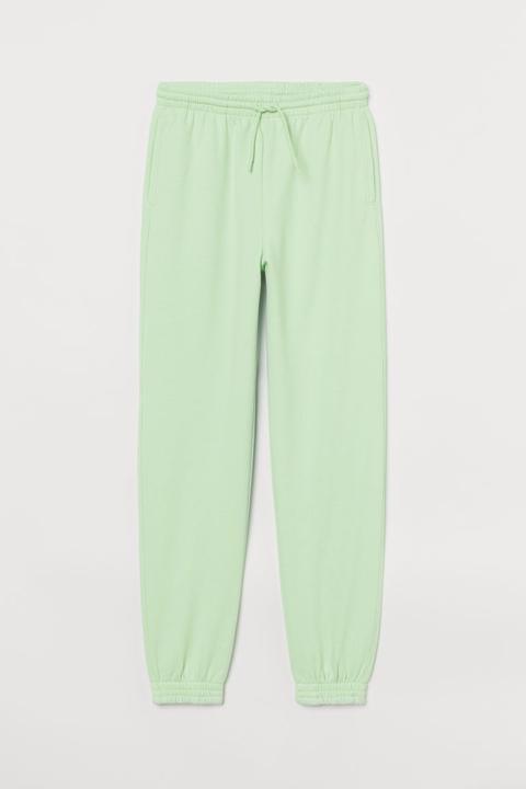 Joggers High Waist - Green