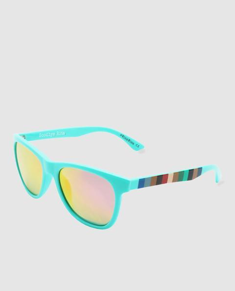 Con El Turquesa GoodbyeRita Gafas On Ingles Sol 21 Estampadas Unisex From Corte Varillas En Buttons De Cuadradas zUMVSpq