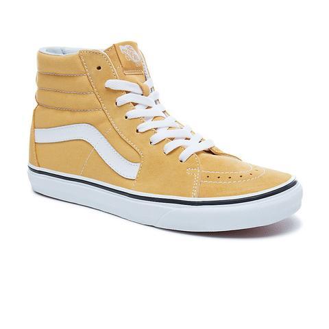 Vans Sk8-hi Shoes (ochre-true White
