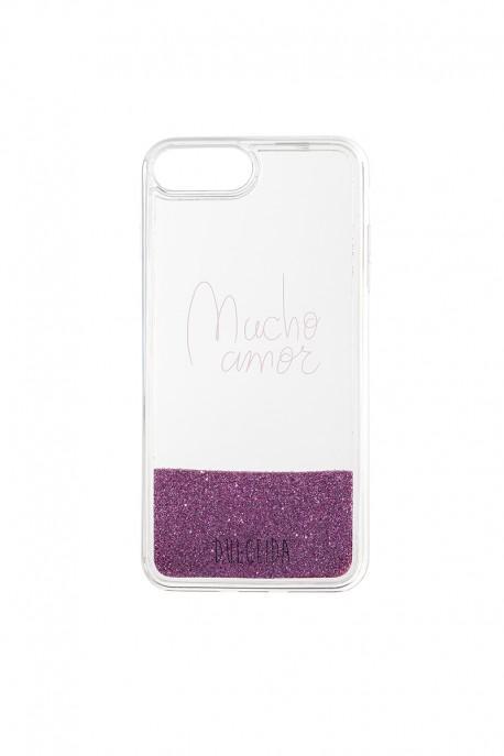Carcasa 'glitter' Para Iphone 6 / 7 / 8