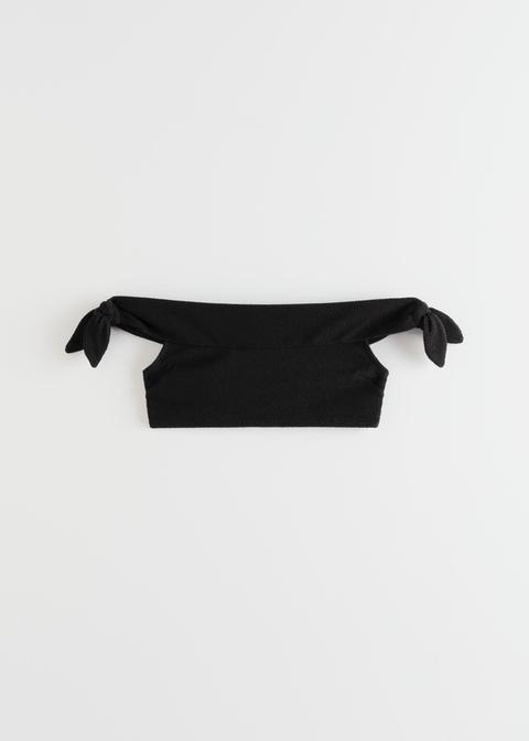 Off Shoulder Bandeau Bikini Top