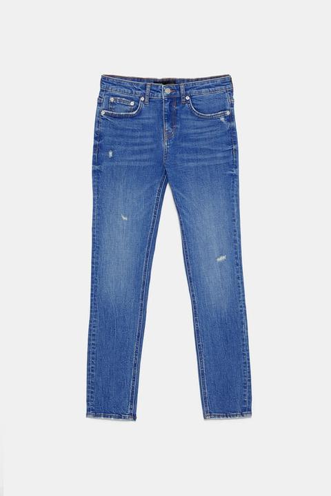 Jean Zw Premium Skinny Azure Blue