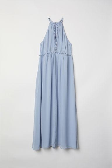 H & M+ Vestido Largo - Azul de H&M en 21 Buttons