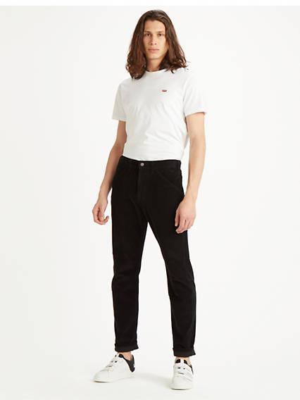 502™ Carpenter Pant Negro / Mineral Black 8w Corduroy de Levi's en 21 Buttons