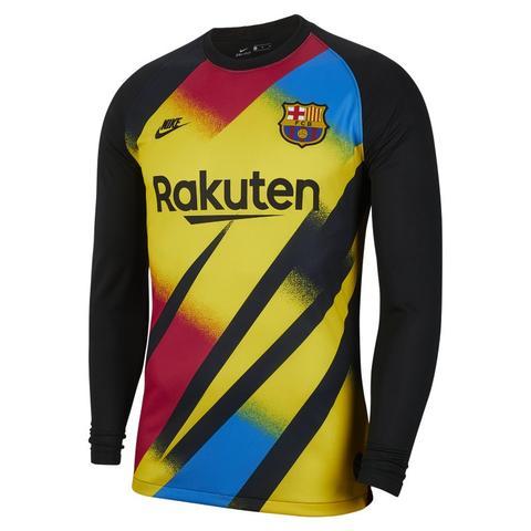 Fc Barcelona 2019/20 Stadium Portero Camiseta De Fútbol - Hombre - Amarillo de Nike en 21 Buttons