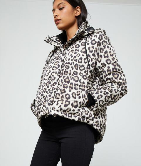 Chaqueta Estampado Leopardo - Animal - 34 - Negro - Mujer - Etam de Etam en 21 Buttons