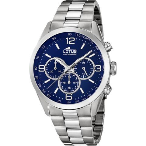 Reloj Lotus Minimalist 18152/4 Azul Correa De Acero, Hombre