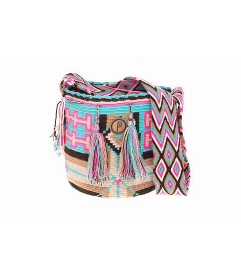Wayuu Palirawaa Turquoise Camel de Pulaa Brand en 21 Buttons