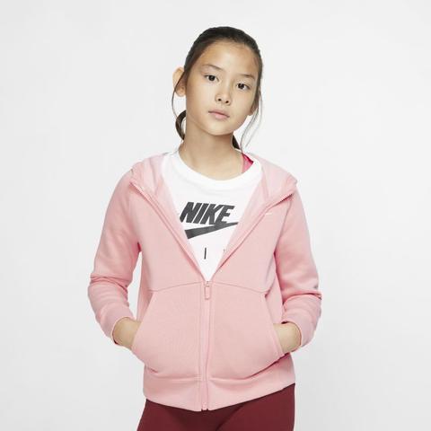 felpa nike ragazza rosa