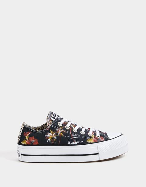 sneaker piattaforma converse chuck taylor all star