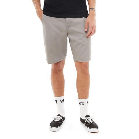 Vans Pantalones Cortos Elasticos Authentic 20 Frost Grey Hombre Gris De Vans En 21 Buttons