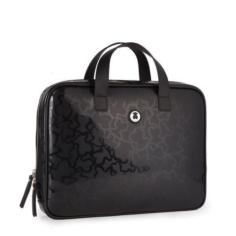 Maletín Kaos Shiny En Color Negro de Tous en 21 Buttons