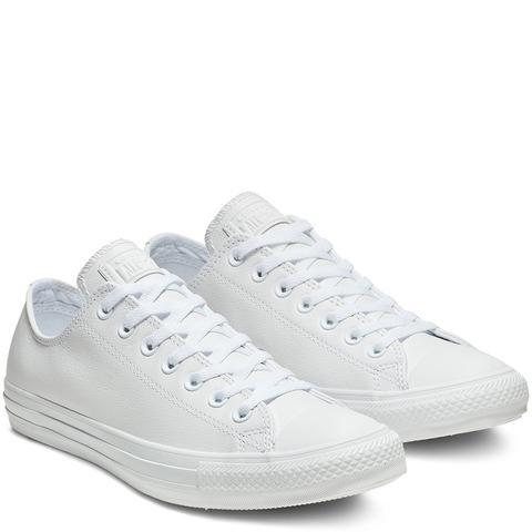Converse Chuck Taylor All Star Mono Leather White