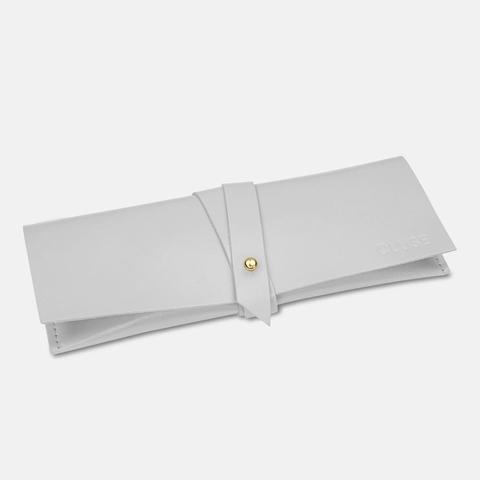 Minuit Leather, Rose Gold, White/grey