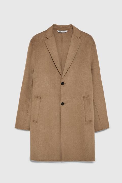 Cappotto Double Face de Zara en 21 Buttons