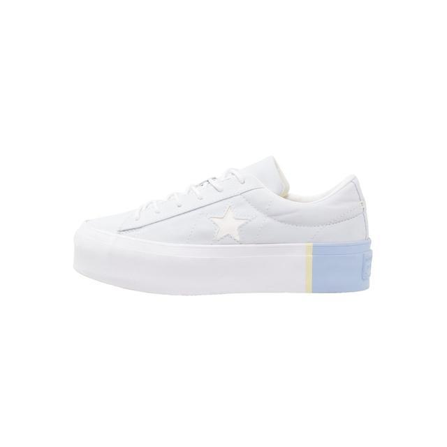 Condición guía Campanilla  Converse One Star Platform Zapatillas Blue Tint/blue Chill/white from  Zalando on 21 Buttons