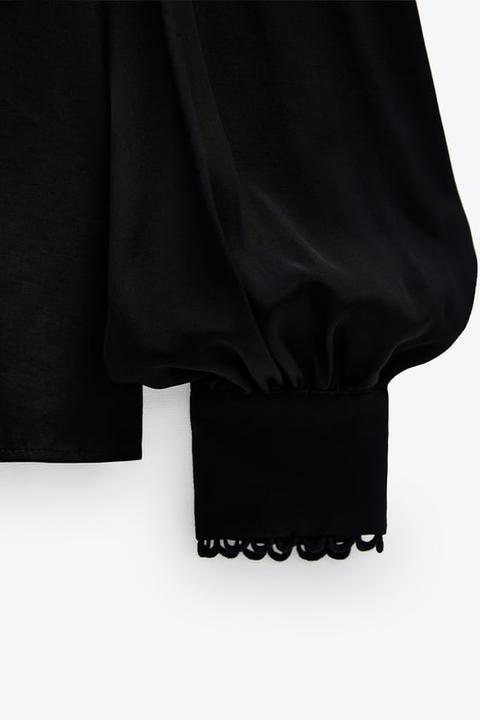 Blusa Fluida Combinada