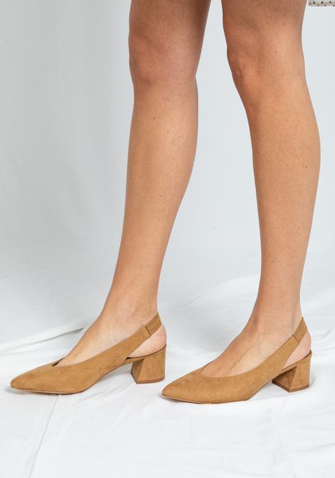 Zapatos Beatrice Camel