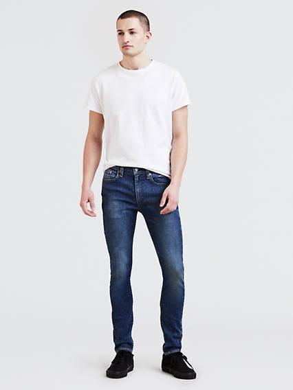519™ Extreme Skinny Fit Jeans Advanced Stretch Negro / Revolt