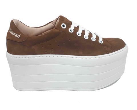 Sneaker 'atenea Xxl Roble' de Alessandro Simoni en 21 Buttons