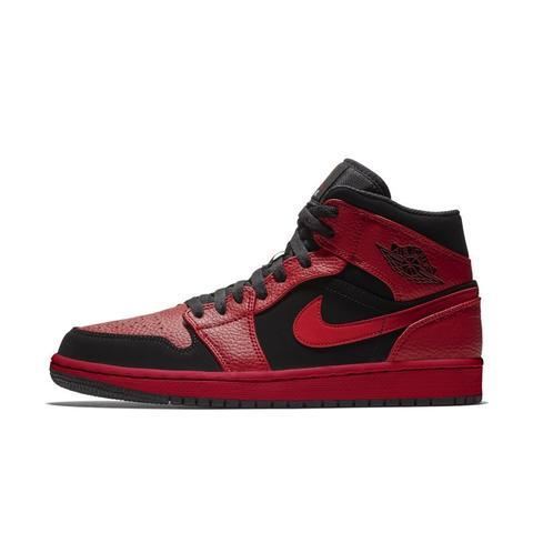 Air Jordan 1 Mid Zapatillas - Rojo de Nike en 21 Buttons