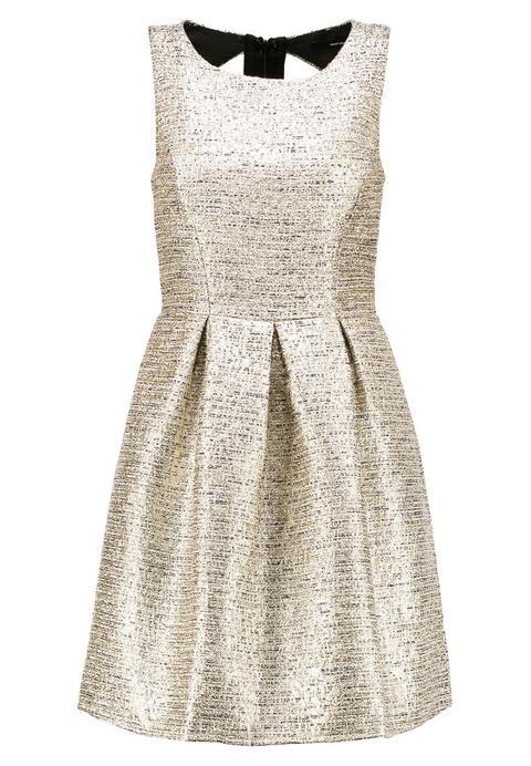 Vero Moda Vmharper Vestido De Cóctel Gold Colour de Zalando en 21 Buttons