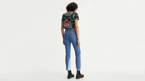 501® Crop Jeans Bleu Moyen / Everlasting Symmetry