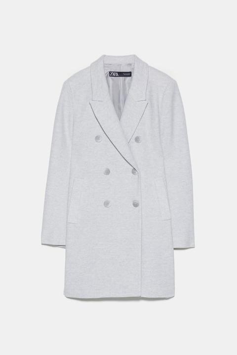 Zweireihiger Mantel from Zara on 21 Buttons