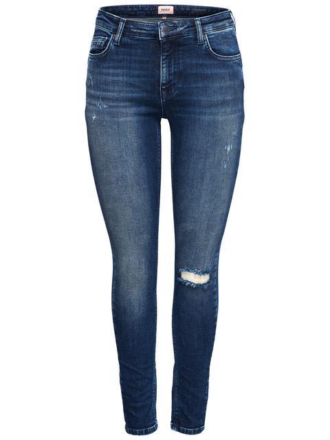 großartiges Aussehen Original wählen bieten eine große Auswahl an Only Onlallan Reg Push Up Skinny Fit Jeans Damen Blau from ONLY on 21  Buttons