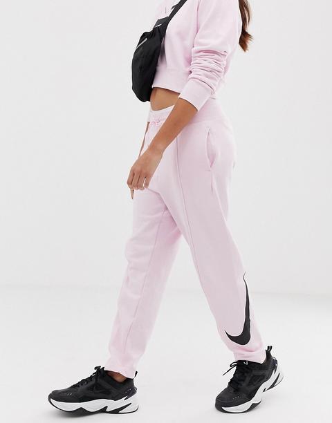 nike pantaloni rosa